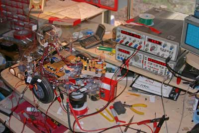ccd images extensively bench testing paami s battery charger circuit
